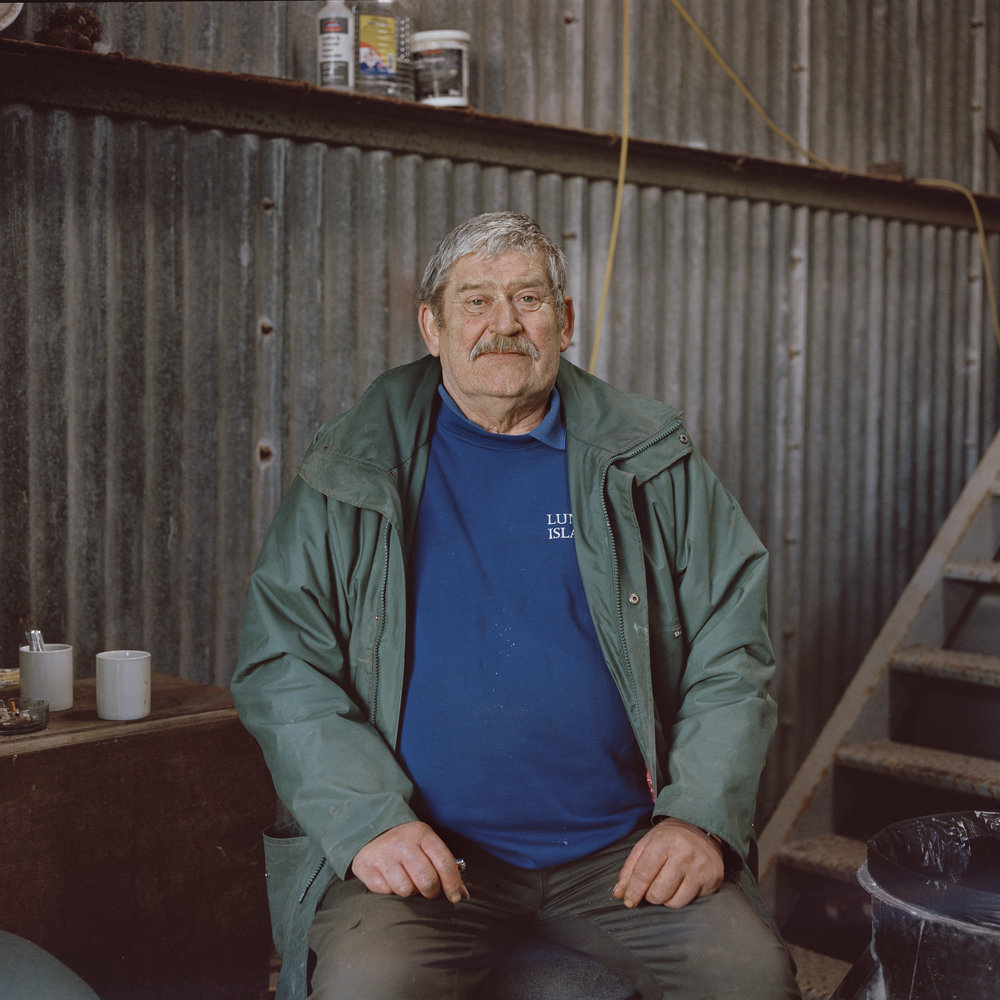 Kevin Walsh, Lundy Island