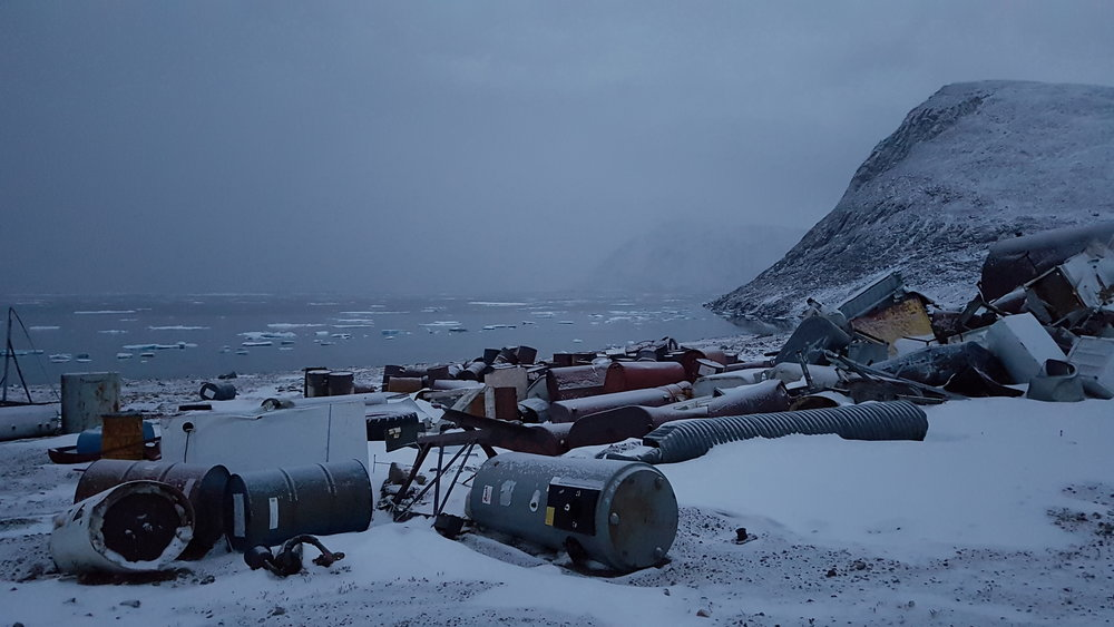 Evening at the Dump, Grise Fiord