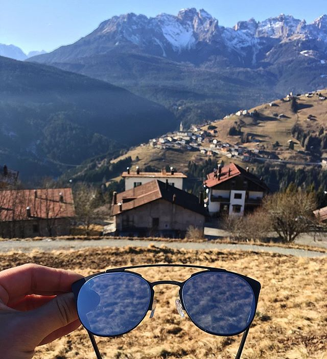 Forever inspired by the birthplace of Rocks Eyewear, the Dolomites (Sunglasses: Sapphire Silver) #rockseyewear #getoutthere #weightless