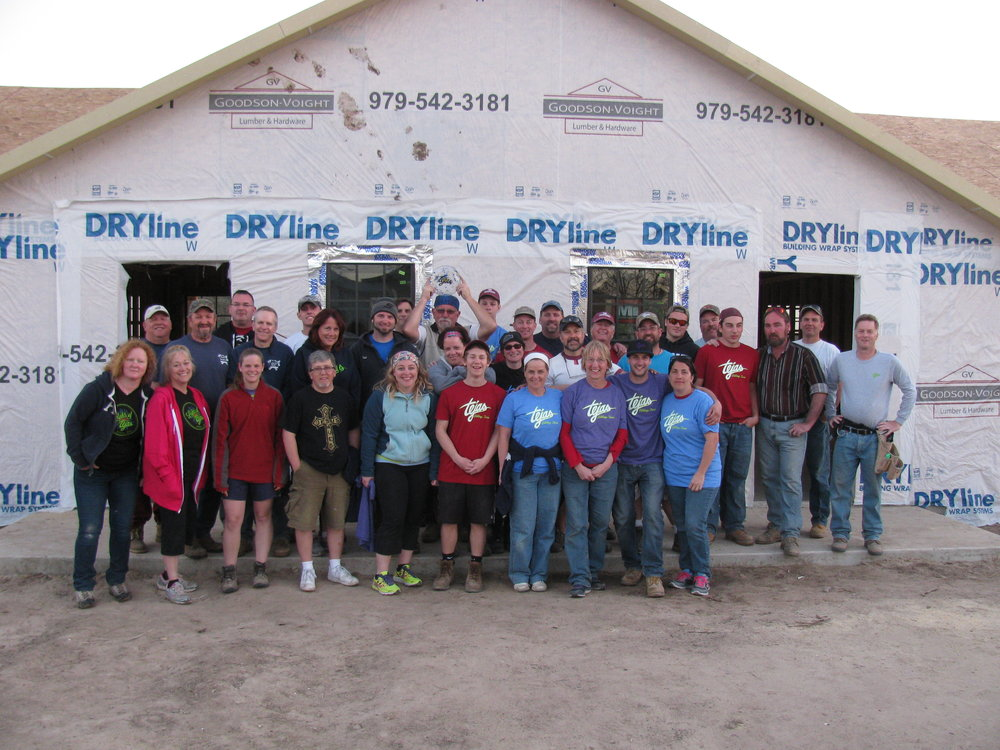 Last year's Texas Mission Team.