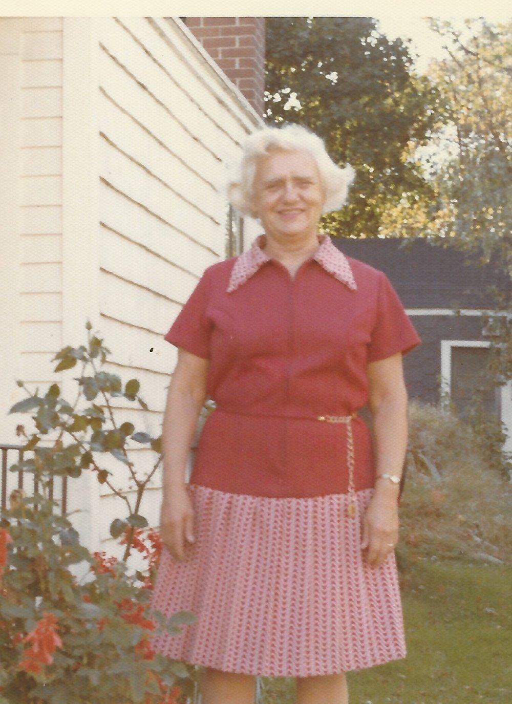 Pastor Frank's Mom