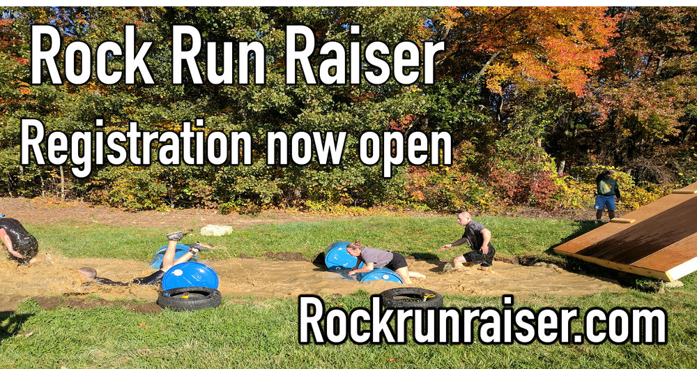 Join us October 13 for the Rock Run Raiser. Register at rockrunraiser.com