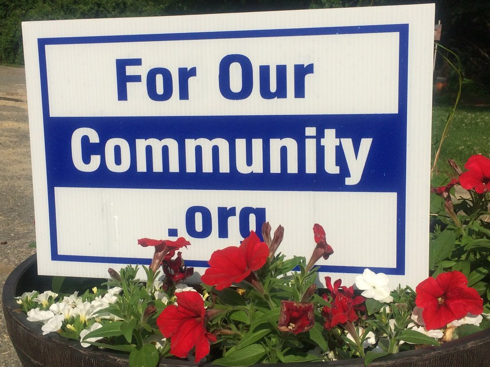 For Our Community Day of Service.  Saturday May 18    Sign up now at www.forourcommunity.org
