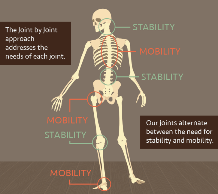 Get in touch with your joints