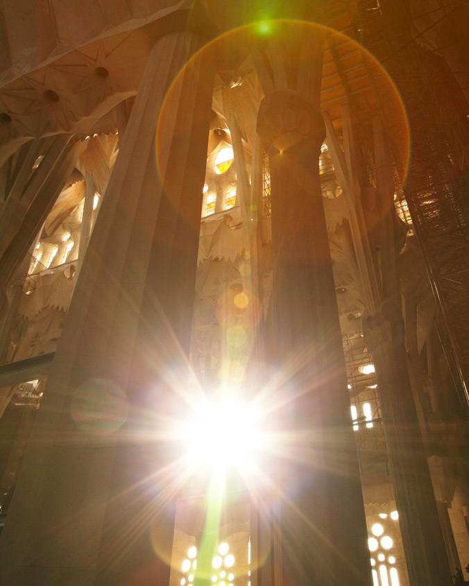 """Amanda Friedman, Sagrada Familia, 24"""" x 28"""""""