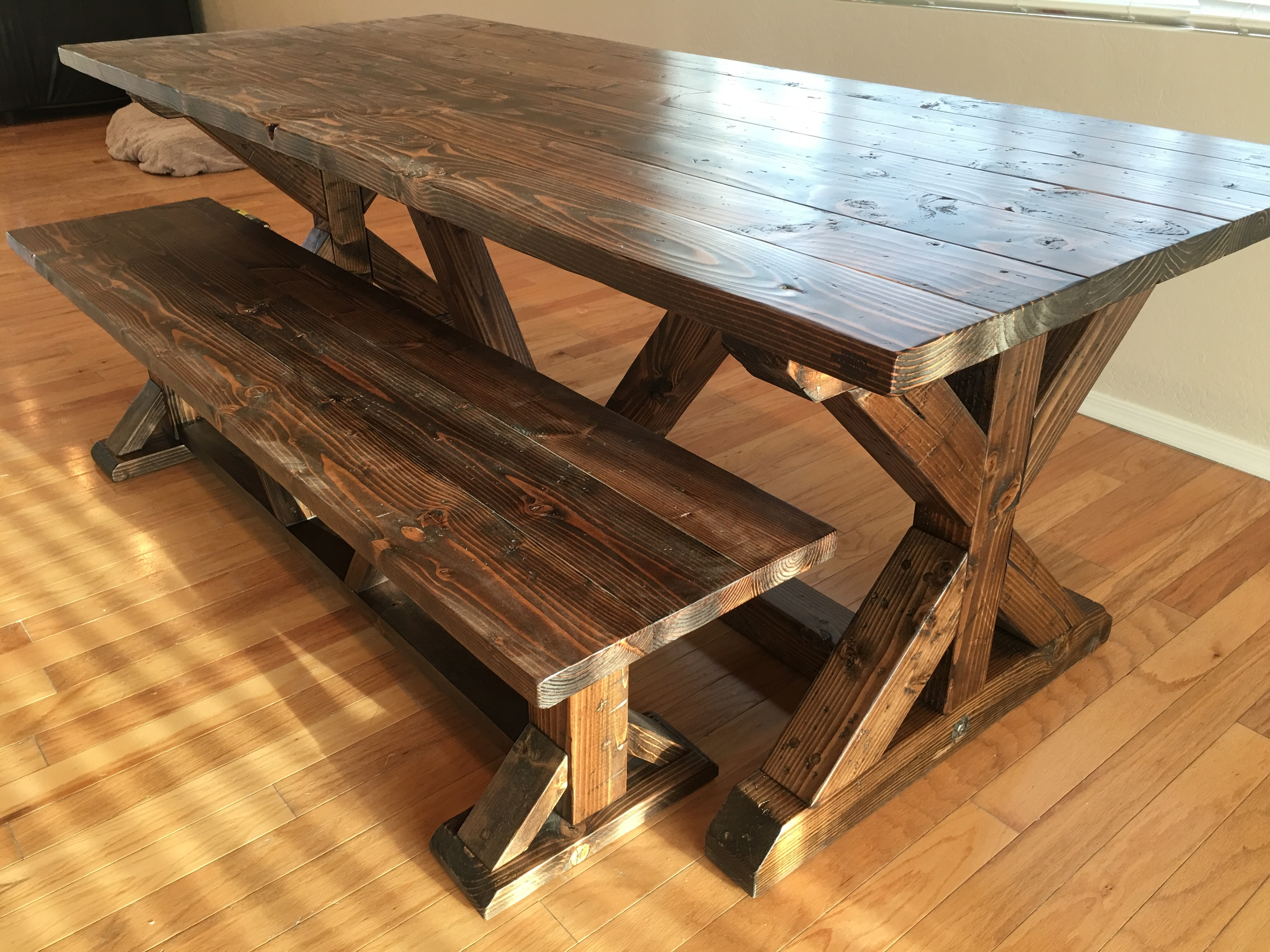 X Base Dining Table ...
