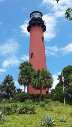 The Jupiter Inlet Lighthouse