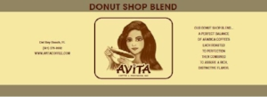 Donut Shop Coffee - Avita Coffee - Donut Shop Blend K-cups