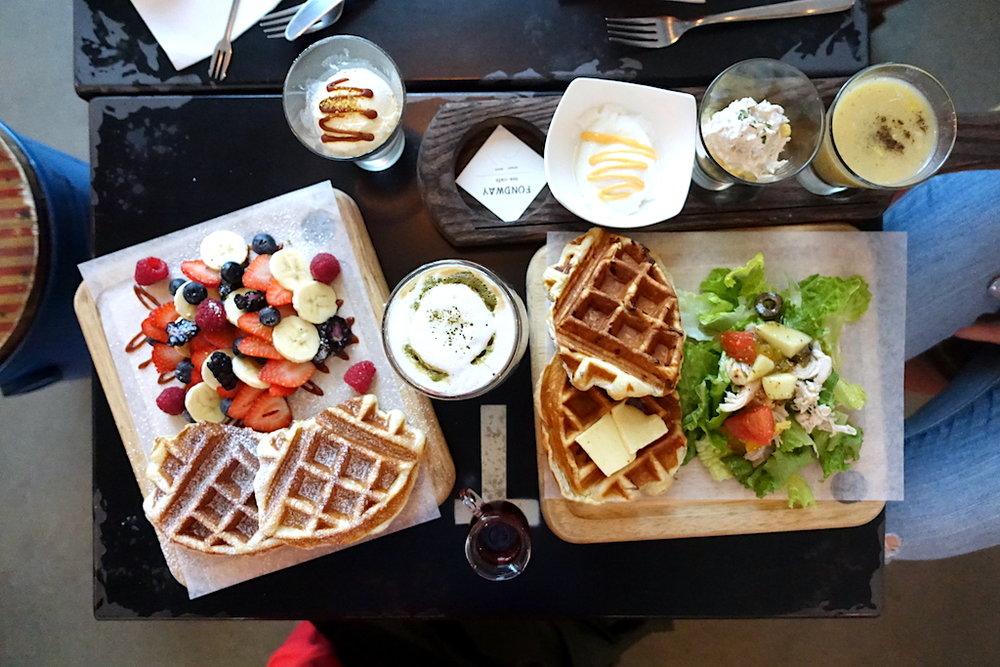 Pendulum Magazine Fondway Cafe Waffle Party and Brunch.JPG