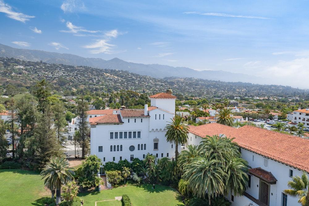 Views from Santa Barbara Courthouse