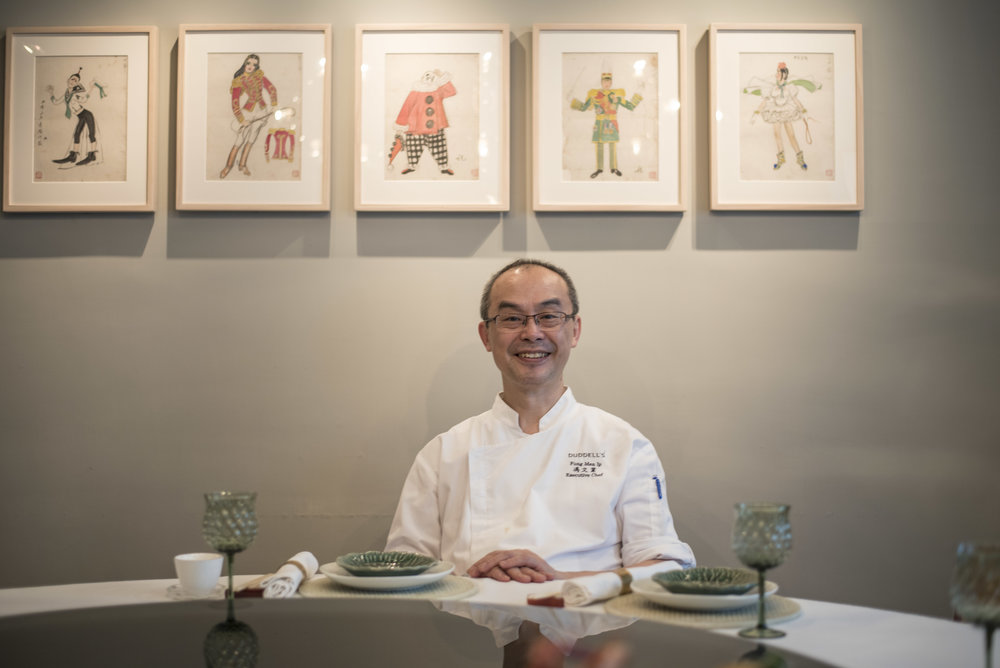 Pendulum Magazine - Chef Fung Man-Ip - Duddell's Hong Kong