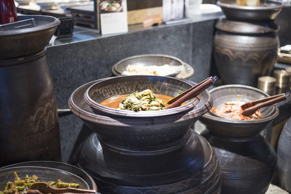 Pendulum Magazine - Korean Culinary Legacy Appetizer Station