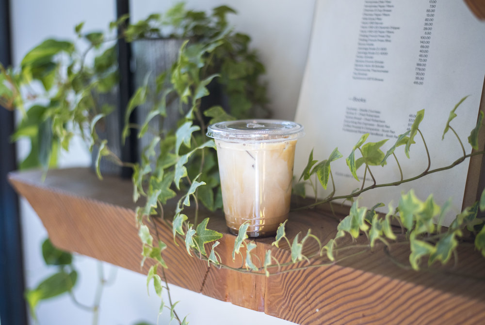 Pendulum Magazine Iced Horchata Latte Matchstick Cafe