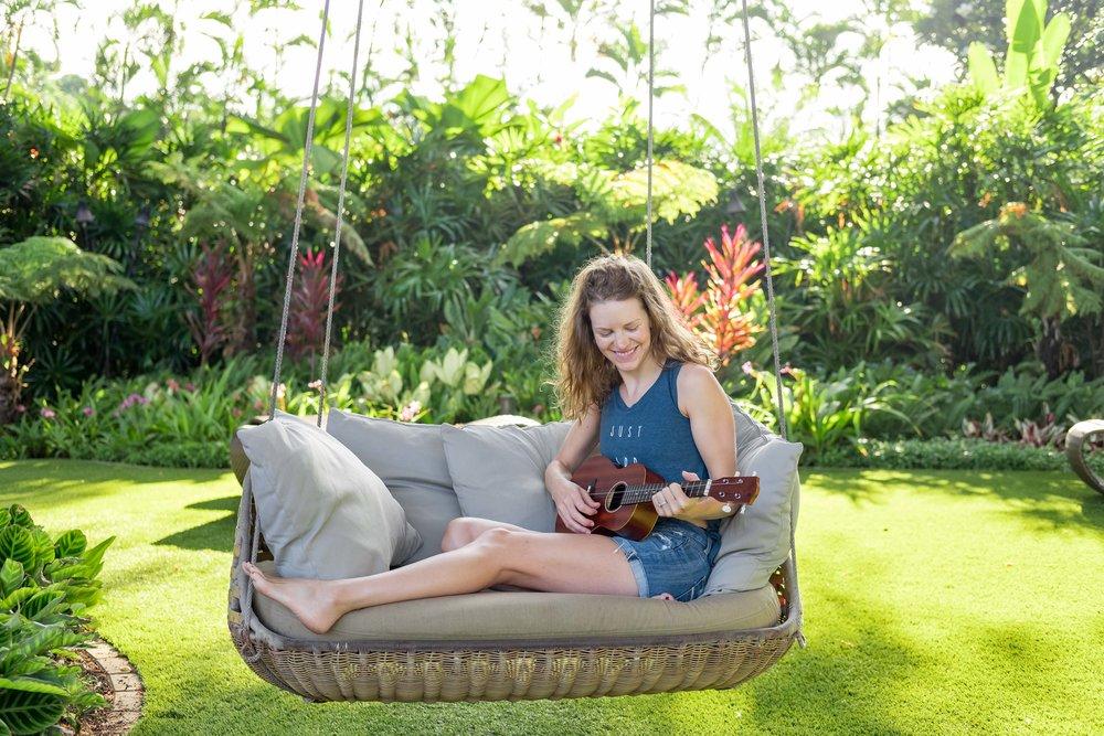 Contributor Savannah enjoying her time in Maui