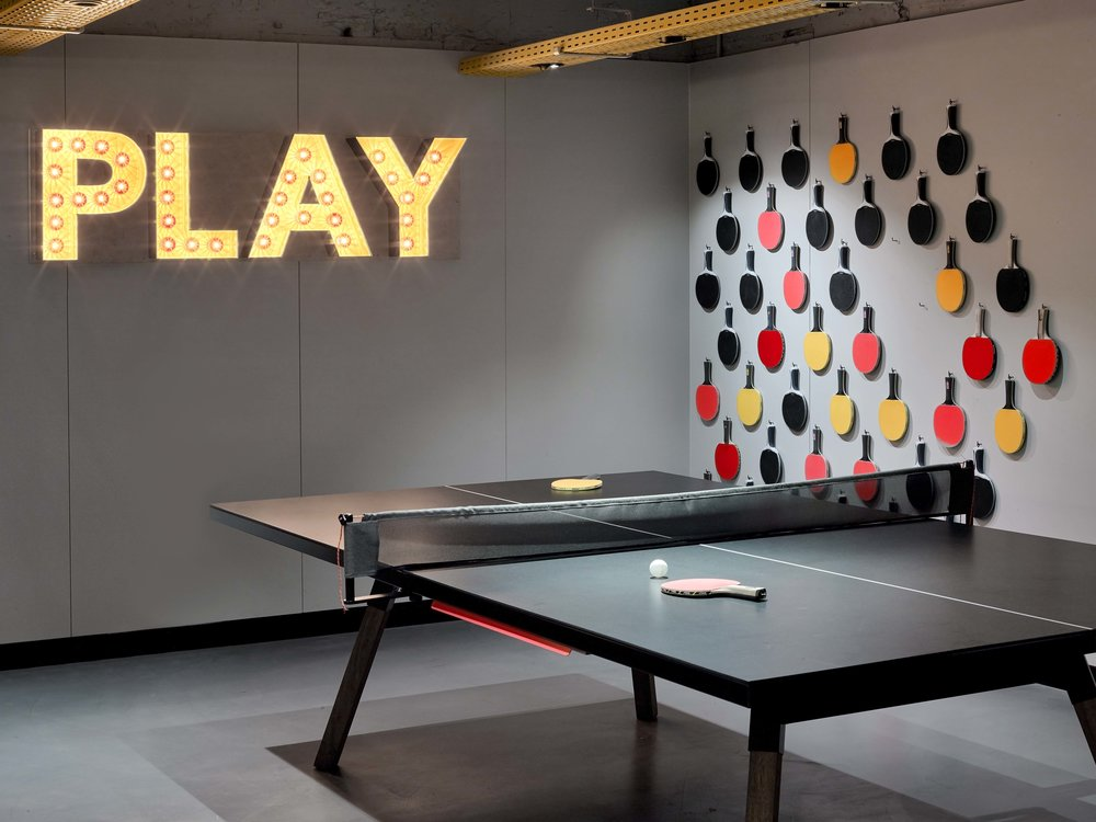 Friendly game of ping pong. Anyone?