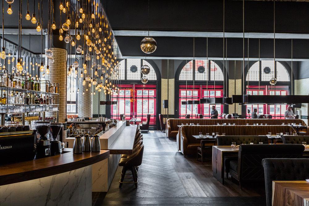 The 150-seat restaurant inside The Detroit Foundation Hotel.