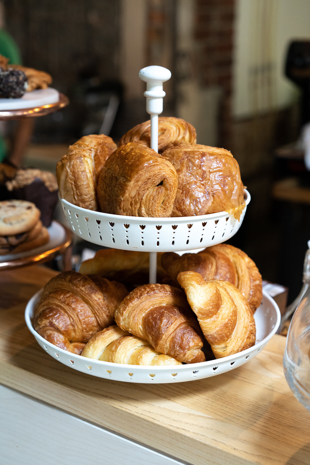Delicious pastries for breakfast or a midday snack.