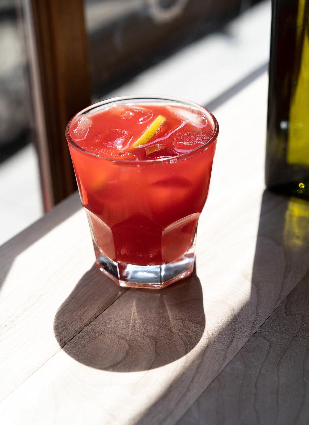 Thirst-quenching Raspberry Lemonade.