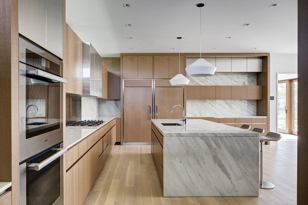 Spacious kitchen designed for entertaining.