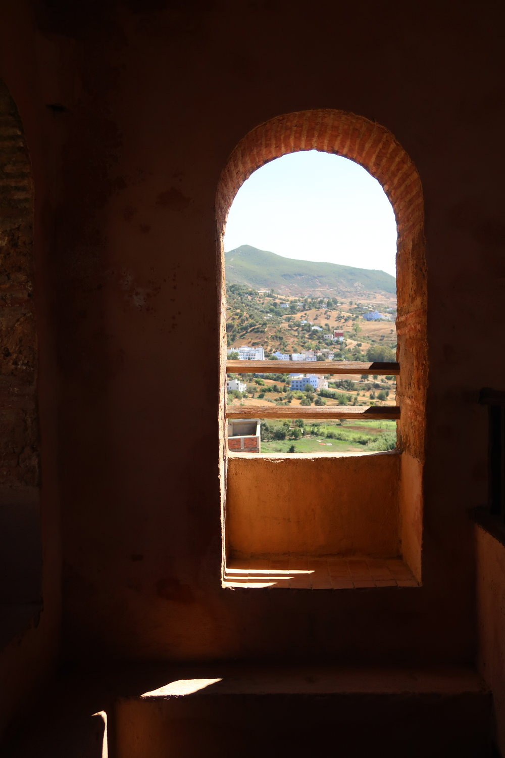 A peek through the window of the Chefchaouen Kasbah