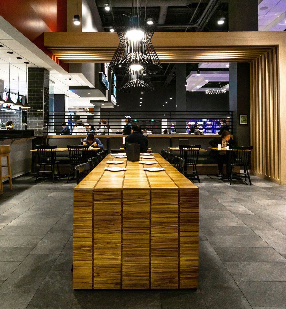 ChopValue's design can be seen at River Rock Casino in Richmond, BC.