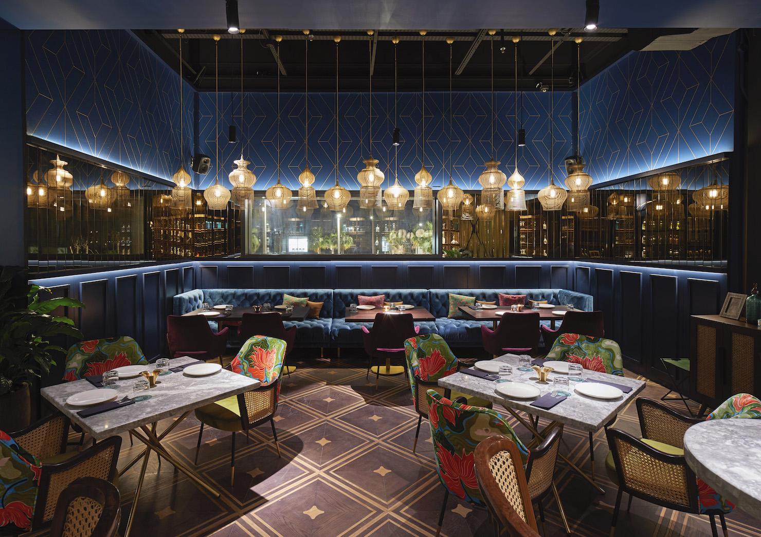 Séparation De Cuisine Bar masti cocktails & cuisine || eclectic indian-inspired