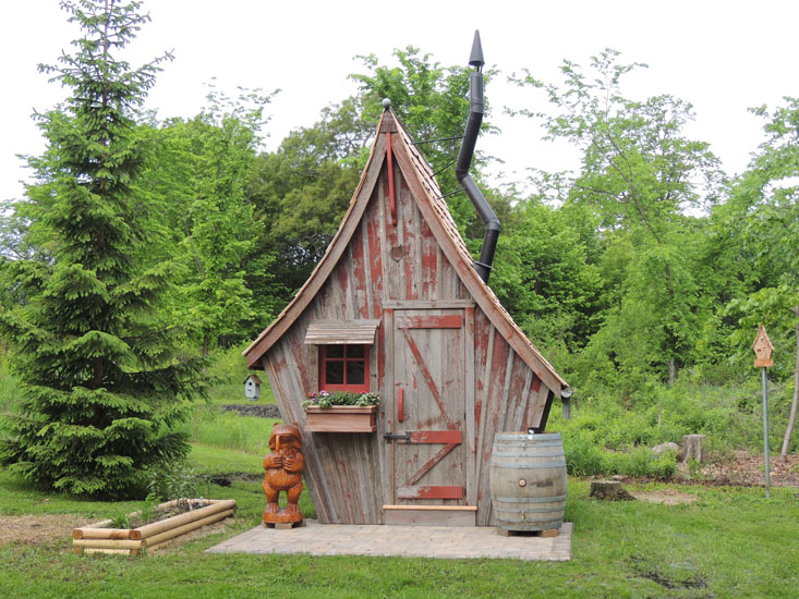 Garden Sheds The Rustic Way