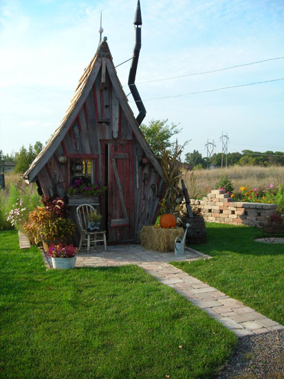 Garden Sheds-The Rustic Way