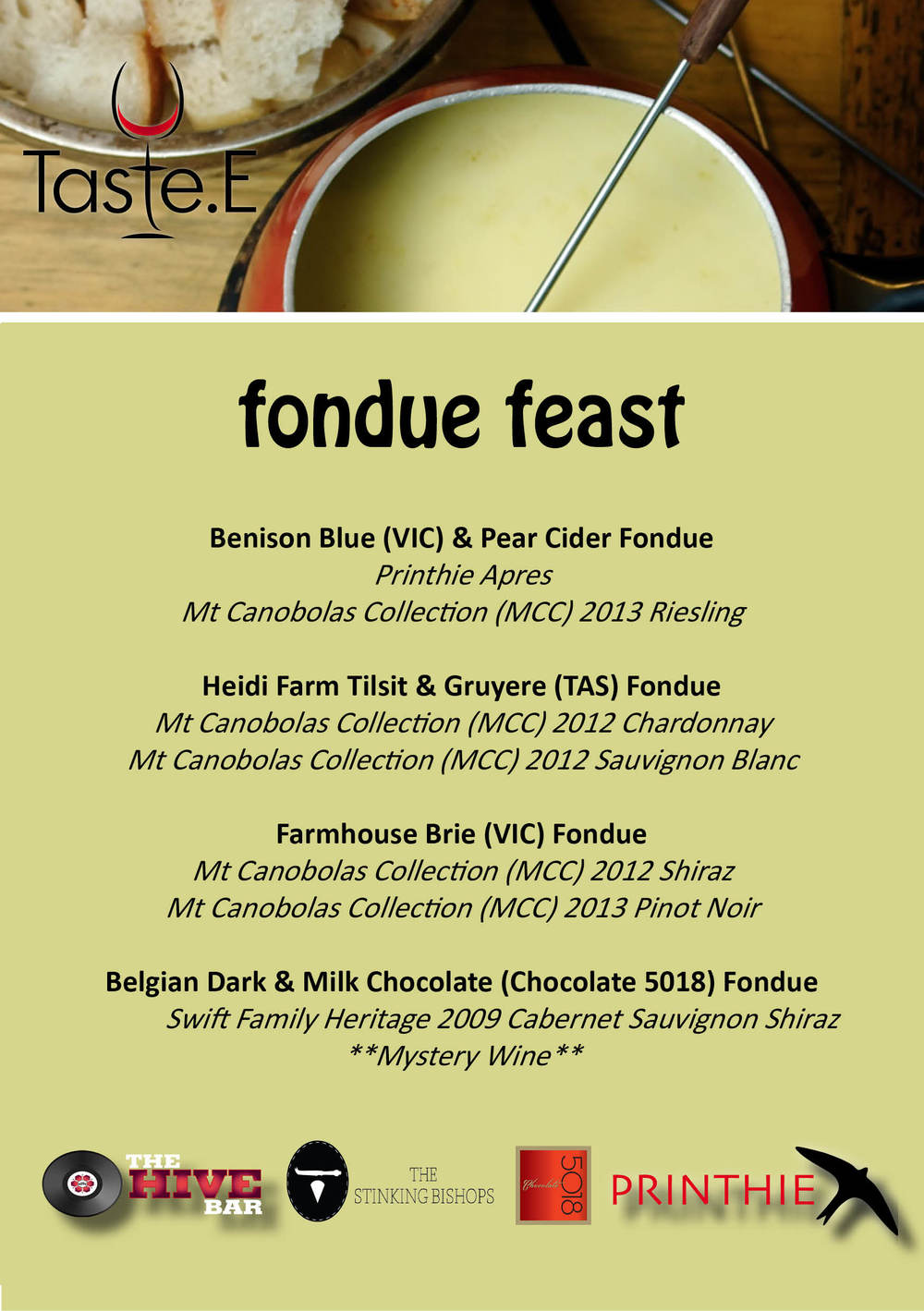 FondueFeast_Menu