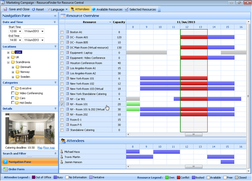 Resource Central | Meeting Room and Resource Booking Software ...