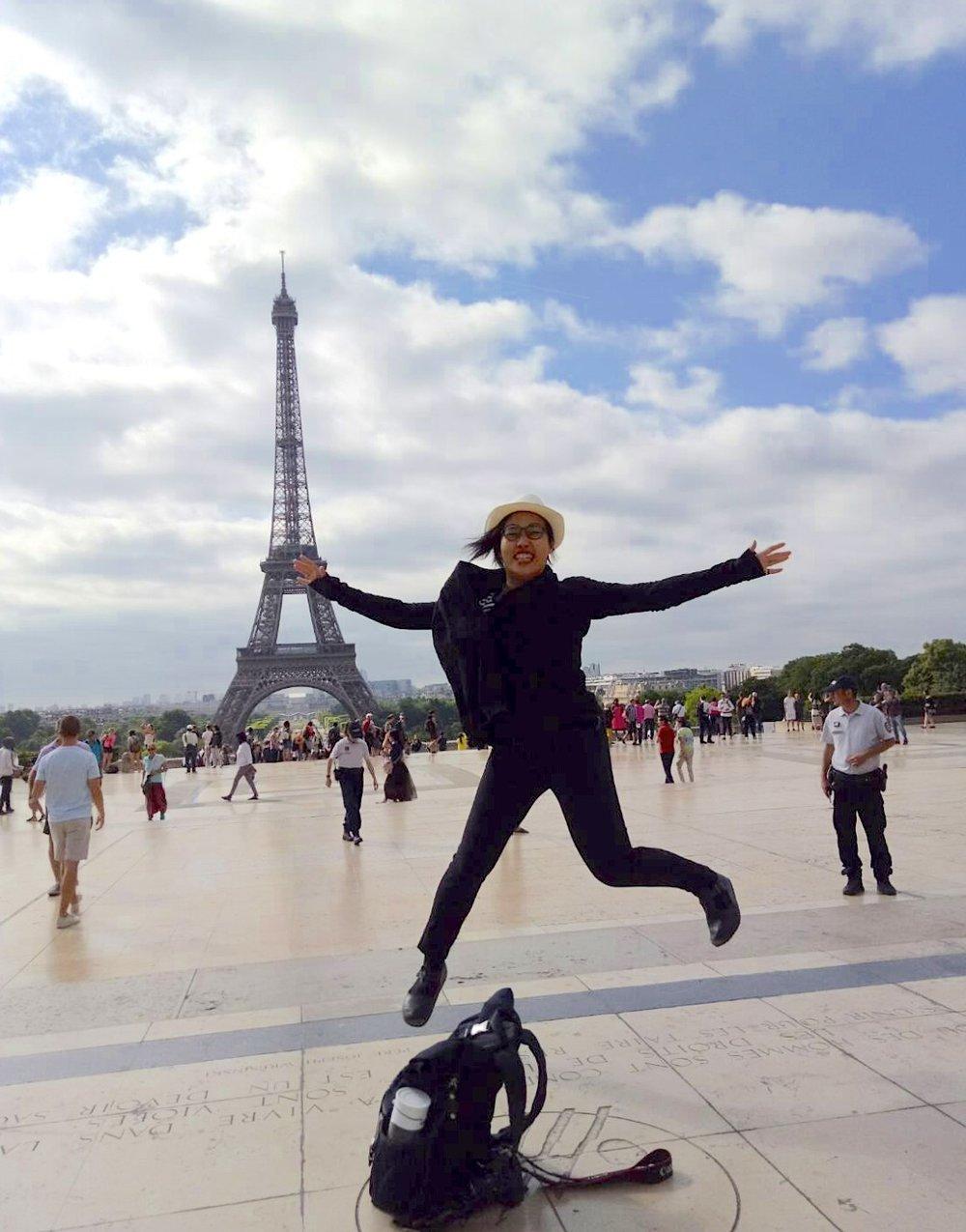 遠赴國外習舞並不容易,對舞蹈的熱情和好奇成為映竹最堅定的支持