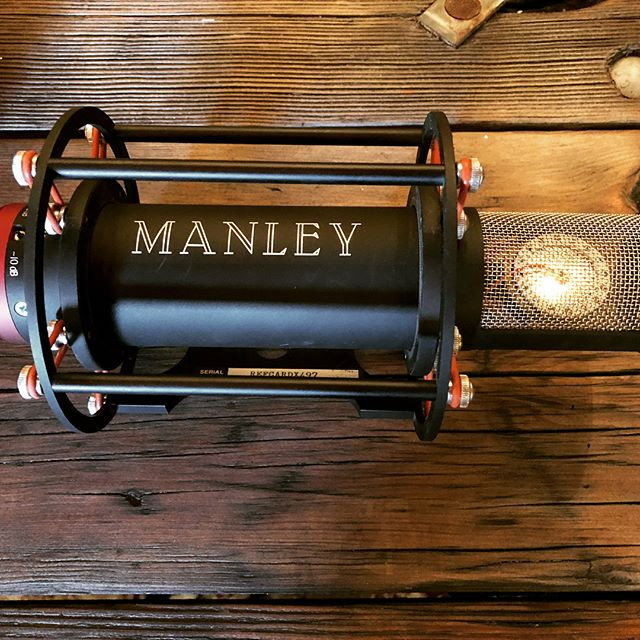 Selling this great mic. Manley Reference large diaphragm tube mic. Very articulate and not harsh. Works well for many voices and sits perfectly in the mix with little eq needed. Asking $2200 #manleyreference #manleytubes #microphone #tubegear