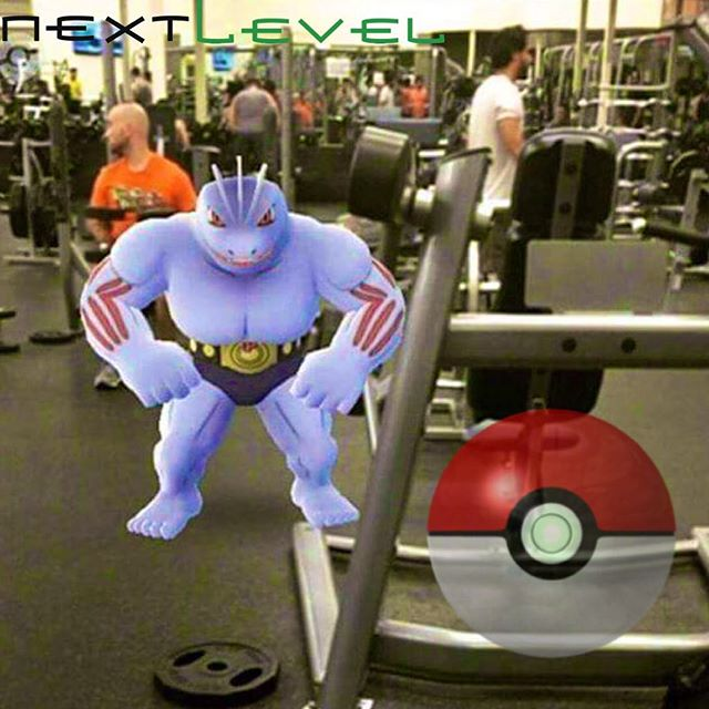 Calling all PokeTrainers!  We need someone to come catch this Machoke!