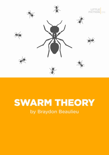 SWARM THEORY - A short story about faith and transformation, published as a digital chapbook by Little Fiction in 2012.