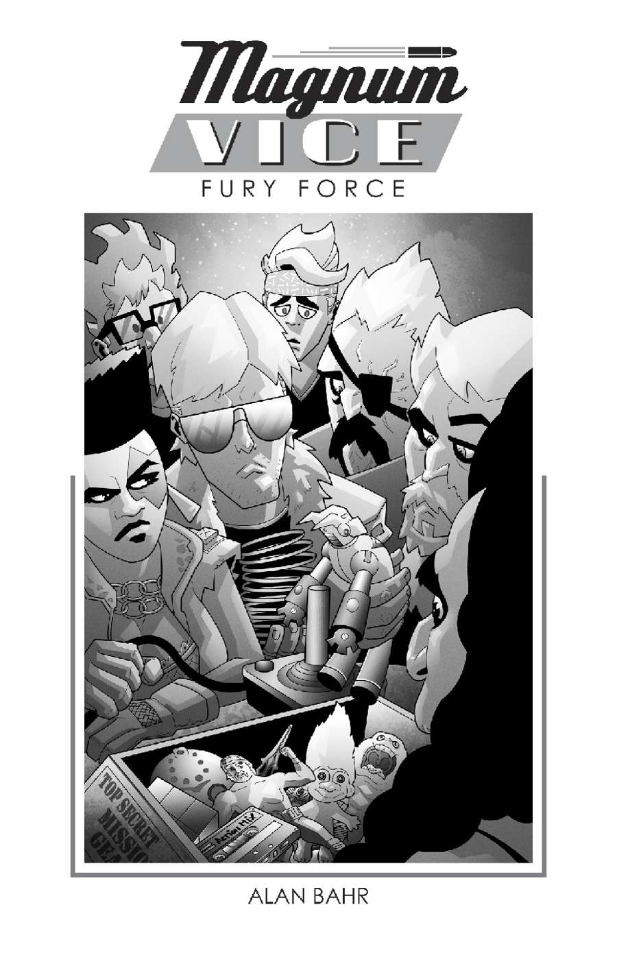 MAGNUM VICE: FURY FORCE - Gallant Knight Games, as Copy Editor