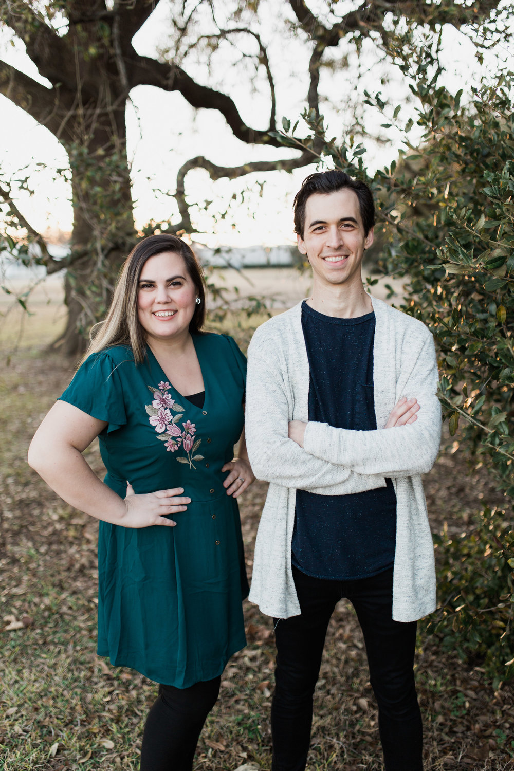 meet our pastors - Andrew Wilson and his wife Caitlyn, serve as the Lead Pastors of Trinity in Beaumont, Texas. In addition to pastoring they run a wedding and portrait photography business and YouTube in their spare time.Caitlyn and Andrew attended Rhema Bible College between 2008 to 2012. They first met through mutual friends in Tulsa, were married in 2012, and moved to Texas to step into the Youth Pastor position here at Trinity. This was all leading up to the next thing that God had for them. At the end of 2016 they stepped into the legacy that founding Pastors' Howard and Marilyn Cameron left and became lead pastors. Andrew and Caitlyn are firm believers in community and having healthy friendships. We aren't meant to do life alone! Here at Trinity there is always room for one more in God's family and that means that the family is always growing and increasing in life-giving friendships.