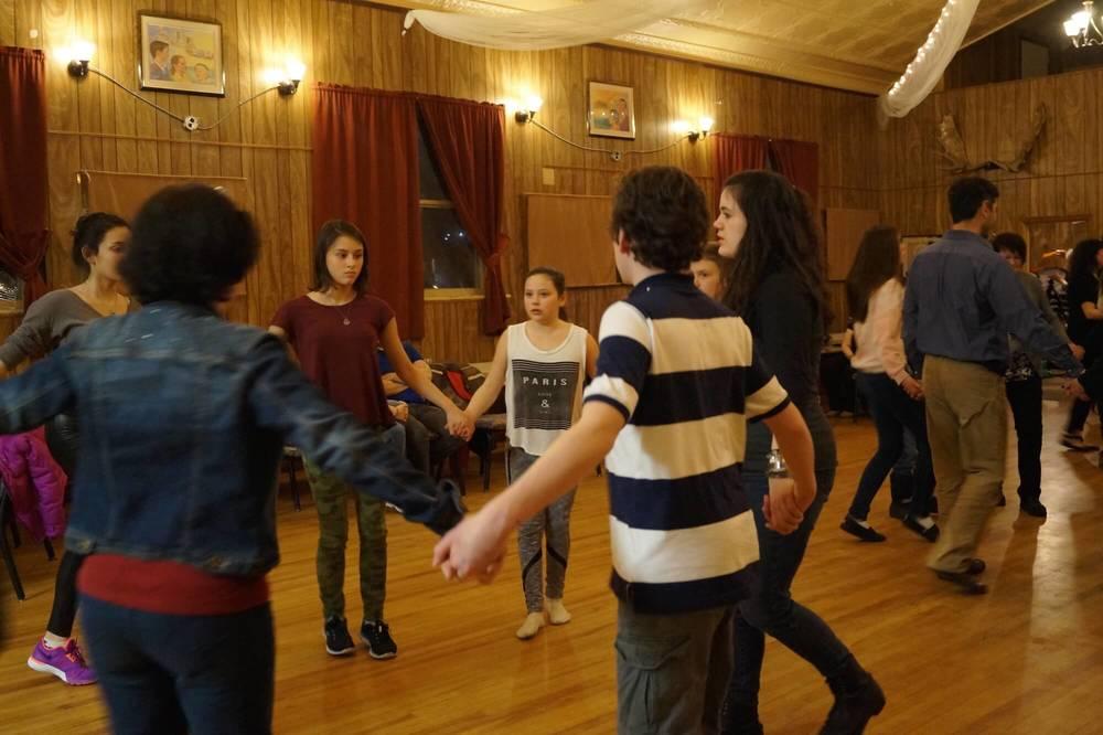 children Irish set dancing