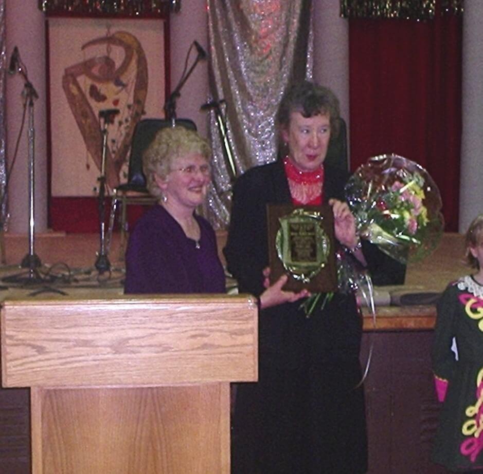 Bridgit Ripley receives Hall of Fame Award