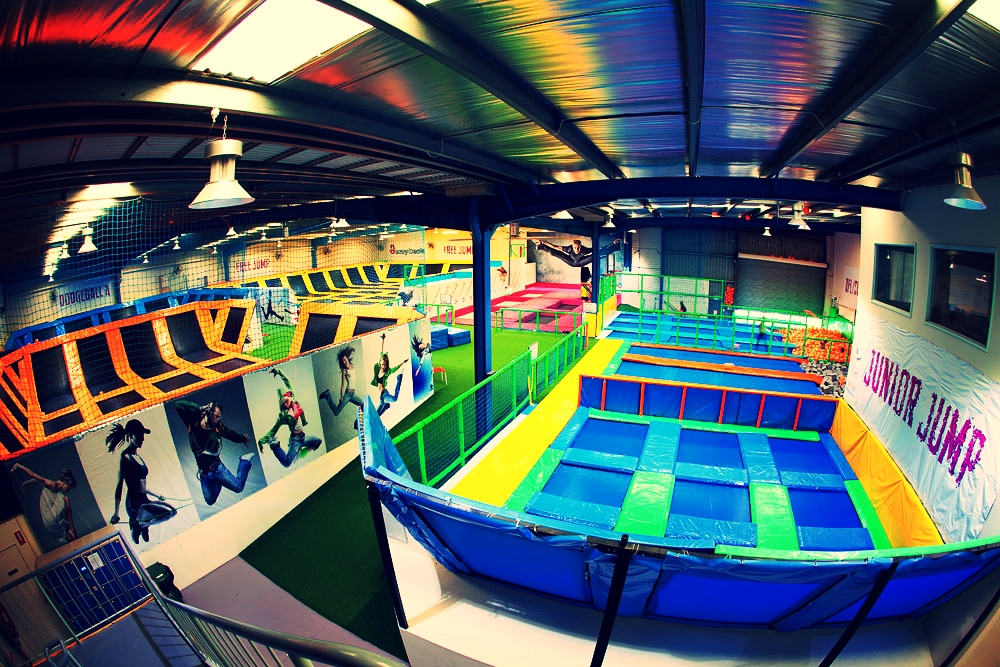 TRAMPOLINE PARK AND INDOOR CHILDRENS PLAYZONE