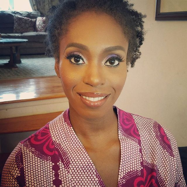 Getting dolled up for my traditional Nigerian wedding in the Anya robe from Yeme. 💃🏽👌🏼😁🎉🎈🎊 Thank you @bdash_mua #transformationtuesday #robe #luxury #pamperyourself #nigerianwedding #asooke #ankara #makeup #dolledup #womenswear #loungewear #wedding #bridesmaidsgifts #bridalparty #emergingdesigner #ss17 #mua #happy #cameraready #africanprint #instapic #instamood