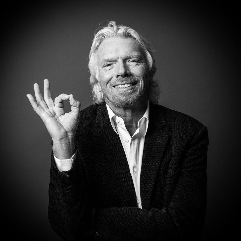is richard branson a global leader