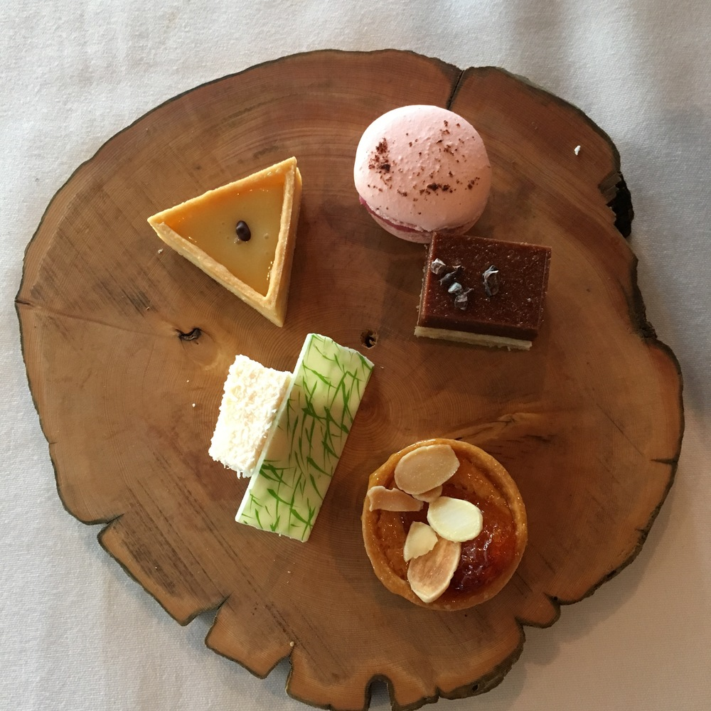 Aria: Selection of petit fours