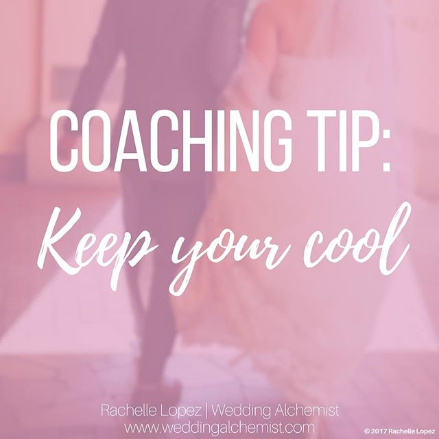 When you have a difference of opinion with someone, our initial reaction is to get defensive, but if we took the time to pause and keep our cool, you'll find that the conversation can be more proactive and communicative.😊 • • #weddingalchemist #weddingalchemisttips #thingscoachessay #coachinglife #coachingtip #coachingtips #weddingtips #weddingtip #womeninbusiness #womenentrepreneurship #iloveyou #bride #groom #weddings #wedding #springwedding #springtime #spring #mayflowers #weddingseason #aprilwedding #listen #becool #keepyourcool #converse #lifetip