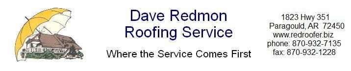 Dave Redmon Roofing Service