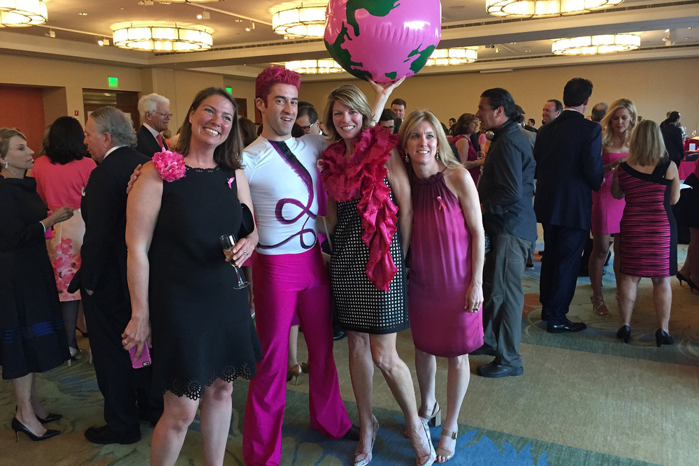 BCRF Boston 2015  Client: Breast Cancer Research Foundation Services: Audience interaction, full choreographed performance