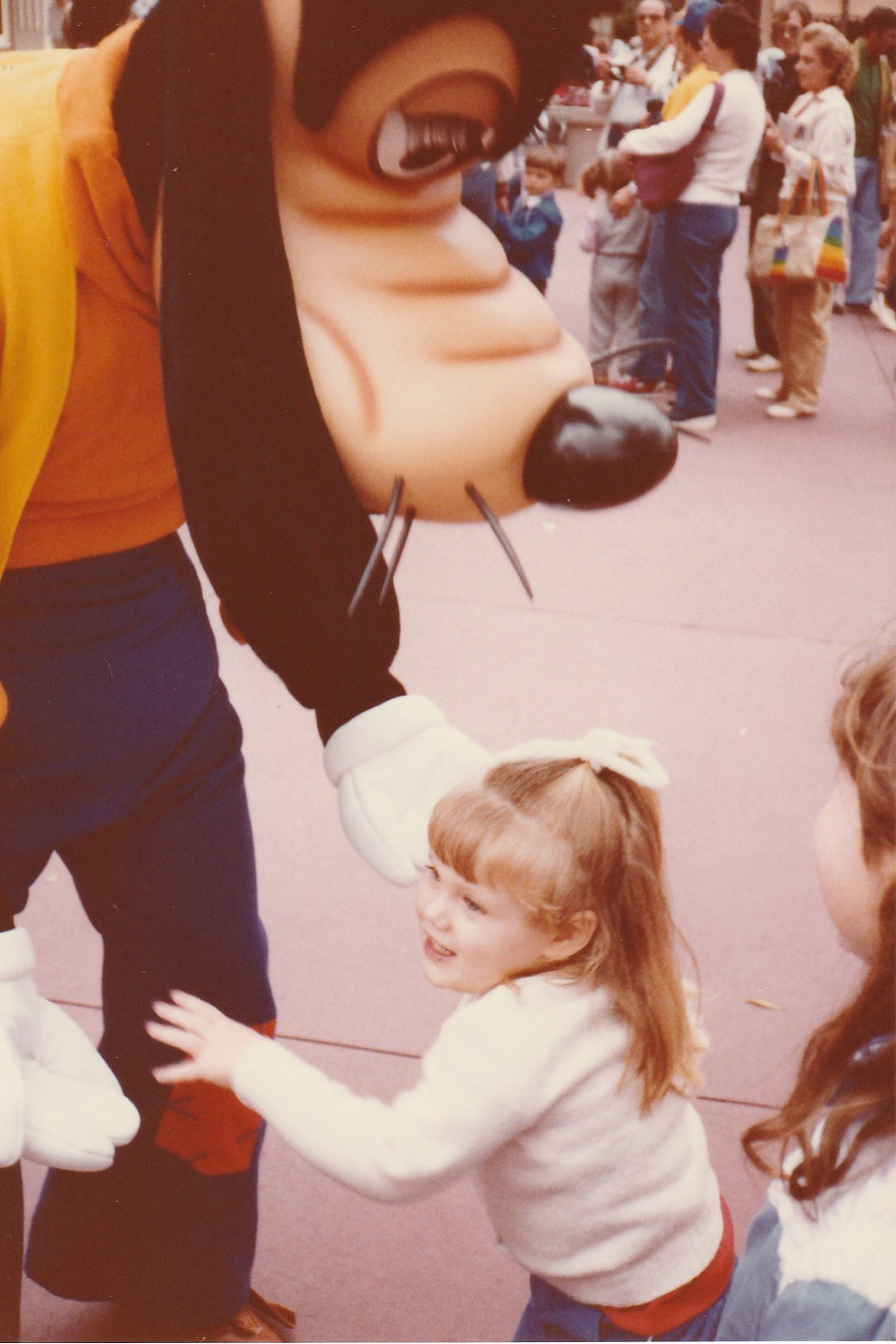 My first visit to  Magic Kingdom® Park  in 1984.  This guy is still one of my favorites!  ( Photo property of Jennifer Henneman)