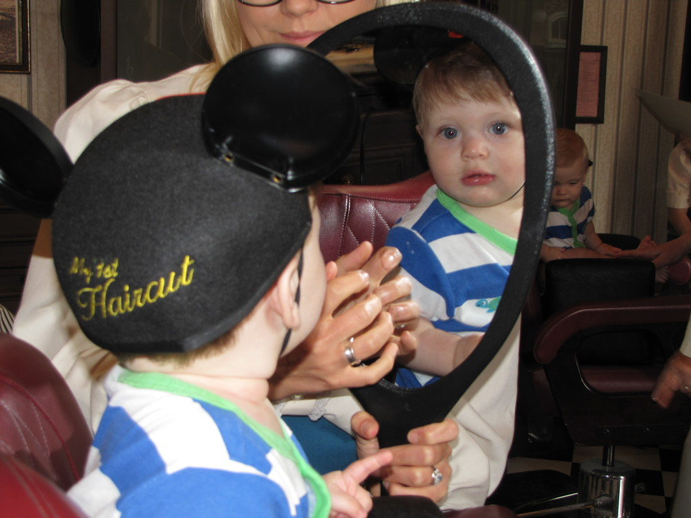 A Magical First The My First Haircut Package At The Harmony