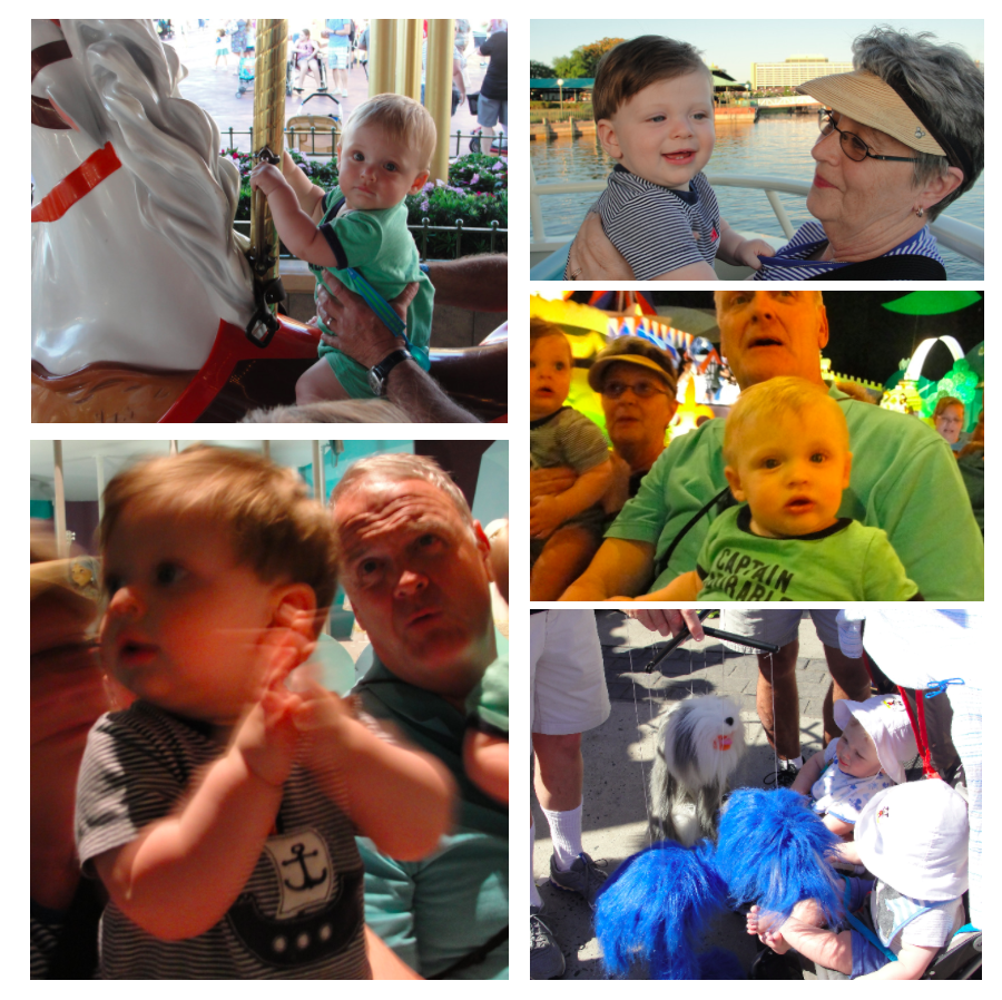 Babies are simply amazed at all the things there are to see and experience at Walt Disney World®!