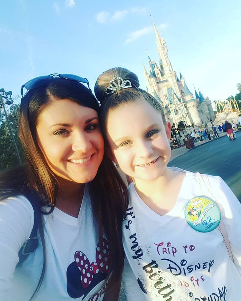Erin H. and her daughter - a First Trip and a Birthday Celebration!