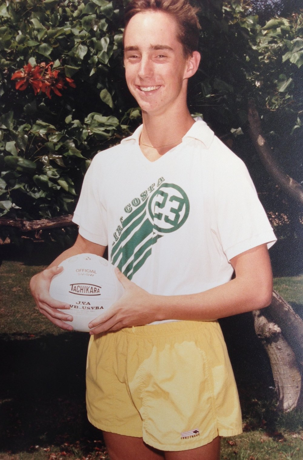 Mira Costa Volleyball Team Sophomore Season 1990